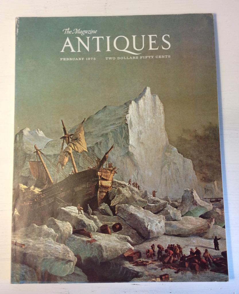February 1975 Magazine Antiques Arctic Art Lincoln Folk Art Far West Painters