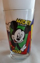 Mickey & Minnie Mouse Donald Duck All Around Very Colorful Glass Really Cute