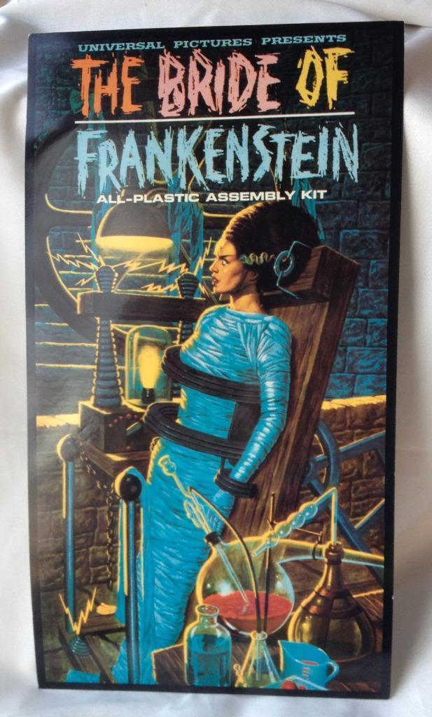 Bride of Frankenstein Poster Universal Pictures Plastic Kit Model Store Display