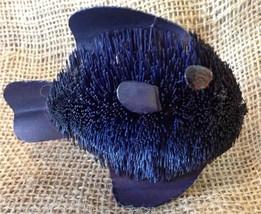BrushArt™ Tropical Fish Ornament: Handmade, Eco-friendly, Vegetable Fiber Animal
