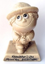 R&W Berries Sillisculpt Statue Made USA KNOW WHAT I LIKE ABOUT YOU  EVERYTHING