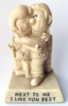 R&W Berries Sillisculpt Statue Made in USA NEXT TO ME I LIKE YOU BEST