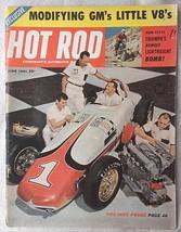 Vintage June 1961 Hot Rod Magazine Modifying GM's Lttle V8's Pre Indy Probe