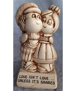 "Paula Sillisculpt Statue Made in USA 1973 ""Love... - $6.50"