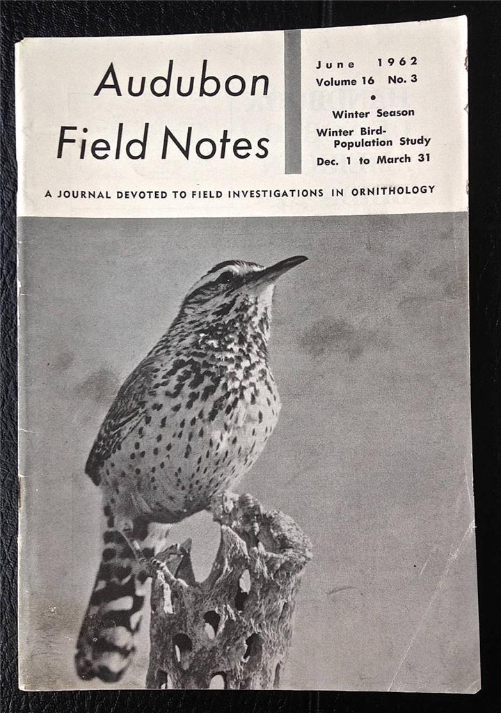 Audubon Field Notes June 1962 Ornithology V. 16 No 3 Spotted-breasted Oriole FL