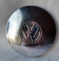 "Vintage VW Almost Flat Faced Hub Cap 6"" Volkswagon Great Wall Hanging Man Cave"