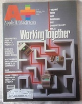 A+ Apple II Macintosh Magazine January 1986 Mac Communications Smartcom II