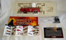 2002 Corgi Heroes under Fire American LaFrance 700 Open Cab Fire Engine MIB