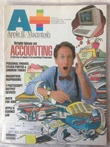 A+ Apple II Macintosh Magazine September 1986 Mapmaking Science Lab Accounting