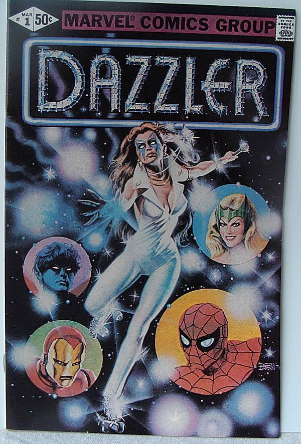 Dazzler  #1 Marvel Comic 1981 Rare Issue VF-NM White Pages