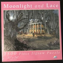 """SunsOut Moonlight & Lace 1500 pc. 33""""x24"""" Puzzle Roberta Wesley WS51002 - $29.70"""