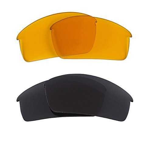 New SEEK OPTICS Replacement Lenses Oakley BOTTLECAP - HI Yellow Grey