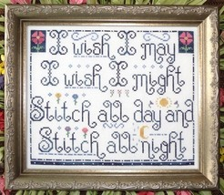 Stitch All Day MBT133 cross stitch chart My Big Toe Designs - $8.00