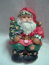 Musical Santa Claus Sitter, The San Francisco Music Box Company - $12.87