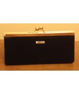 St John Black & Gold Evening Bag Hideaway Shoulder Strap Clutch - $86.09