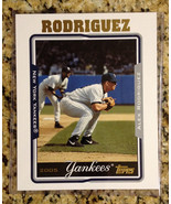 Topps Alex Rodriguez 8x10 2005 Yankees MLB used condition - $9.74