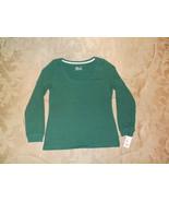 NWT Women's XL Cotton Long Sleeve Scoop Neck Shirt Sleep Gilligan & O'Ma... - $7.84