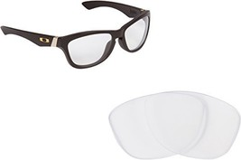 New SEEK OPTICS Replacement Lenses Oakley JUPITER - Crystal Clear - $10.86