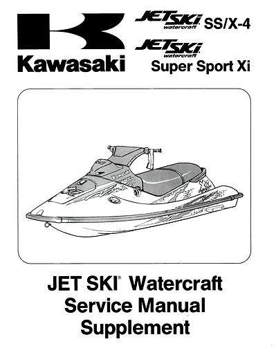 kawasaki jetski 750 ss x4 x 4 super sport xi and 19 similar items rh bonanza com kawasaki 750ss service manual Kawasaki XI 750 Supersport