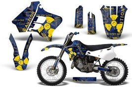 Meltdown-AMRRACING MX Graphics decal kit fits Yamaha YZ 125/250 (1993-1995)-Y... - $158.39