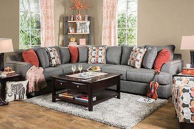 Horren Sectional Sofa Living Room Contemporary Modern Design
