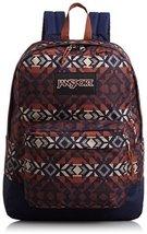 JanSport Black Label Superbreak Student Backpack - Burnt Henna Abstract ... - $29.99