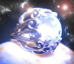 HAUNTED RING THE QUEEN OF ETERNAL RESURRECTION RENEWAL OOAK MAGICK MAGICKAL  - $4,777.77