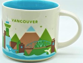 Starbucks Vancouver, Canada You Are Here Collection Coffee Mug NEW IN BOX - $60.88