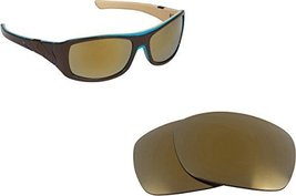 New Seek Optics Replacement Lenses Oakley Sideways   Gold - $9.38