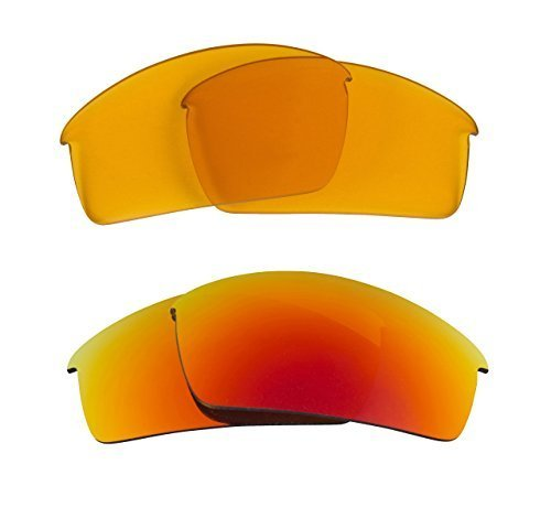 New SEEK OPTICS Replacement Lenses Oakley O ROKR PRO - HI Yellow Red