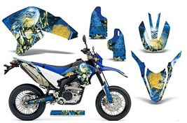 Iron Maiden-AMRRACING MX Graphics decal kit fits Yamaha WR 250X_R (2007-2013)... - $158.35