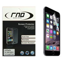 RND 4 Screen Protectors for Apple iPhone 6 and 6S (4.7 inch)  (Anti-Fing... - $7.99