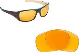 New Seek Optics Replacement Lenses Oakley Sideways   Hi Intensity Yellow - $8.88