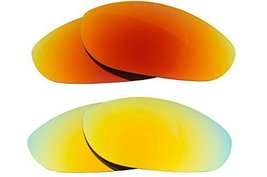 New Seek Optics Replacement Lenses Oakley Monster Dog   Red Yellow - $23.25