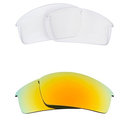 New SEEK OPTICS Replacement Lenses Oakley O ROKR PRO - Clear Yellow