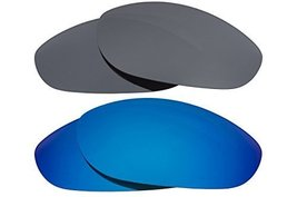 New SEEK OPTICS Replacement Lenses Oakley MONSTER DOG - Black Blue - $23.25