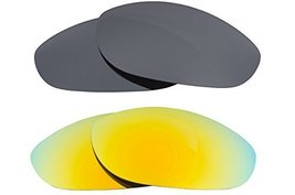 New SEEK OPTICS Replacement Lenses Oakley MONSTER DOG - Black Yellow - $23.25