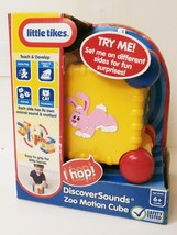 Little Tikes Discover Sounds Zoo Motion Cube NIB - $20.00