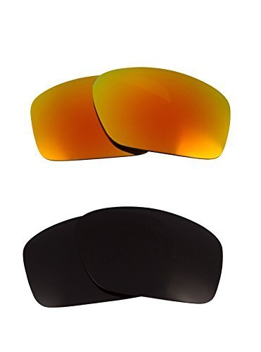 Primary image for New SEEK OPTICS Replacement Lenses Oakley SCALPEL - Black Yellow