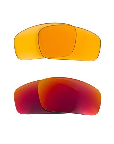 Primary image for New SEEK OPTICS Replacement Lenses Oakley MONSTER PUP - HI Yellow Red