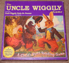 UNCLE WIGGILY CHILDS FIRST READING GAME 2000 WINNING MOVES COMPLETE EXCE... - $20.00