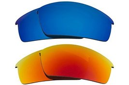 New SEEK Replacement Lenses Oakley O ROKR PRO - Polarized Red Blue - $33.15