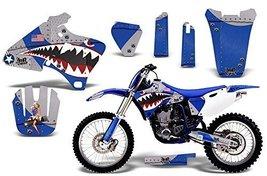 1998-2002 Yamaha YZF 250/400/426 AMRRACING ATV Graphics Decal Kit-Warhawk-Blue - $158.35