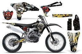 Iron Maiden-AMRRACING MX Graphics decal kit fits Yamaha YZ250F (2010-2013)-Nu... - $158.35