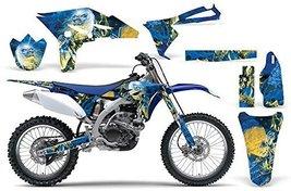 Iron Maiden-AMRRACING MX Graphics decal kit fits Yamaha YZ250F (2010-2013)-Li... - $158.35