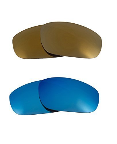 Primary image for New SEEK OPTICS Replacement Lenses Oakley FIVES 4.0 - Gold Blue