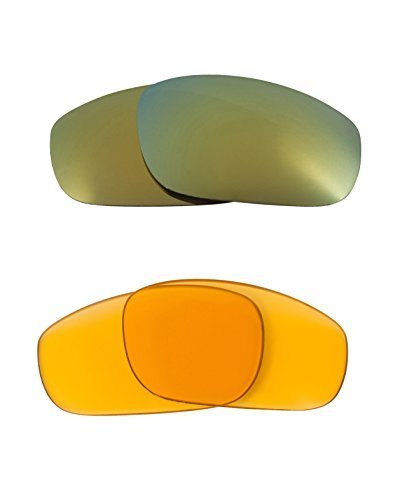 Primary image for New SEEK OPTICS Replacement Lenses Oakley FIVES 4.0 - HI Yellow Green