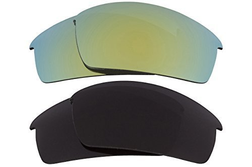 New SEEK OPTICS Replacement Lenses Oakley THUMP PRO - Grey Green image 1