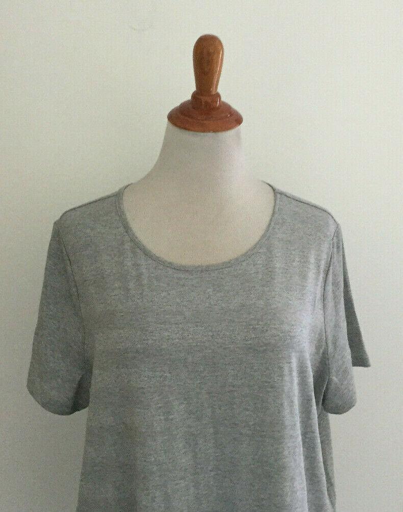 Talbots Woman Petites 2X P Sparkle Stripe Knit Top