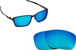 New Seek Replacement Lenses Oakley Tincan Carbon  Polarized Blue - $18.30